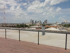 Rooftop View of Downtown Dallas