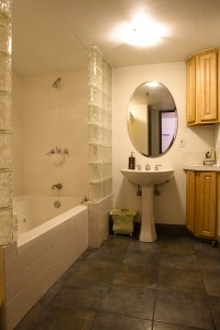 Large Bathroom and Shower