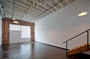 Downstairs Concrete Floors