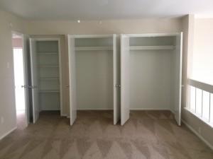 Large Closet Space
