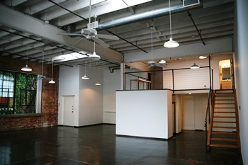 Storefront Split-Level Loft in Expo Park Deep Ellum