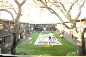 Courtyard Under Construction