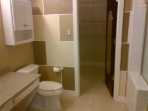 Large Bathroom/ Walk-in Closet