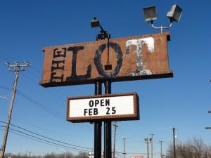 Lot Street Sign