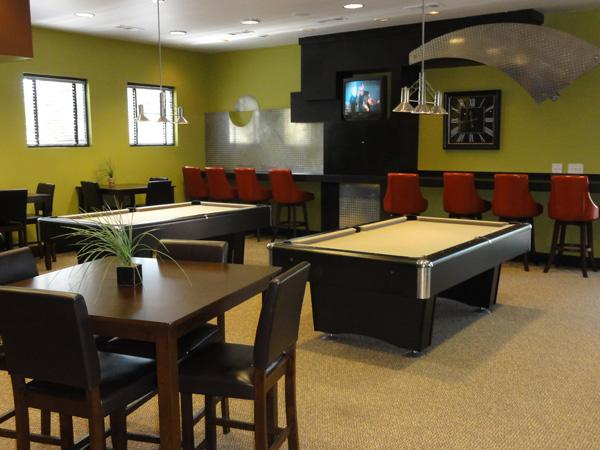 Common Area Pool Tables