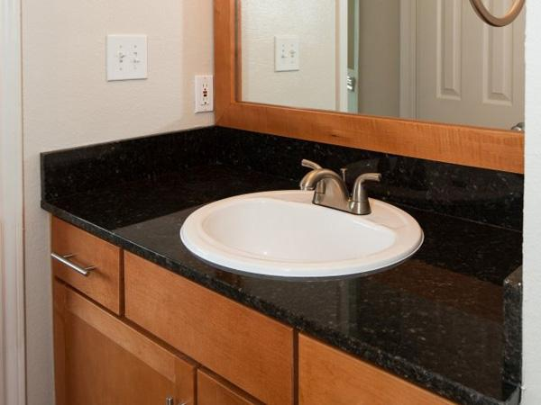 Bathroom Sink and Countertops